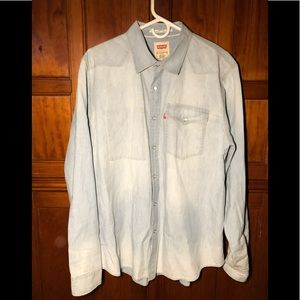 Long Sleeve Levi's  Shirt Button Down